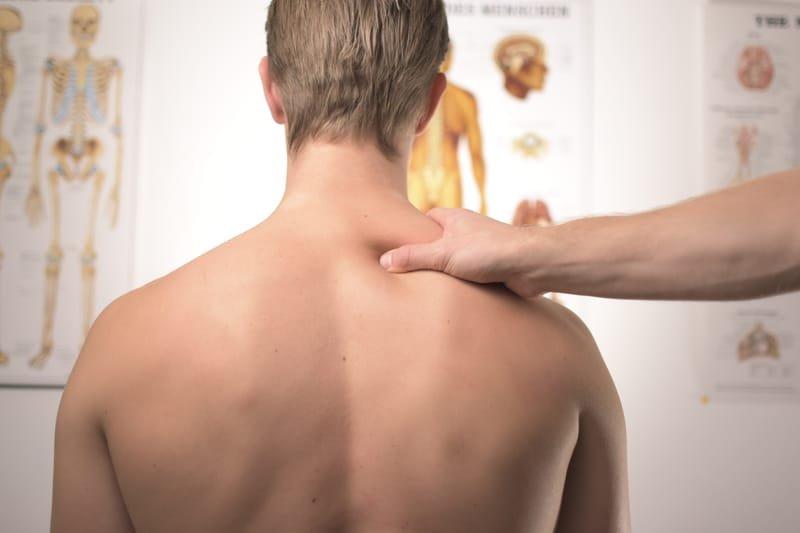 Back and Shoulder Massage £20