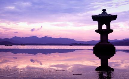 Hangzhou lac de l'ouest