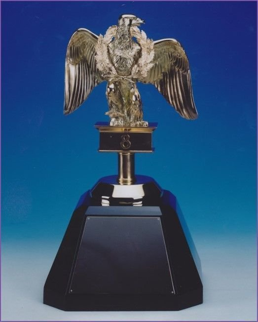 Replica of 1st eagle captured from the French during the Napoleonic wars