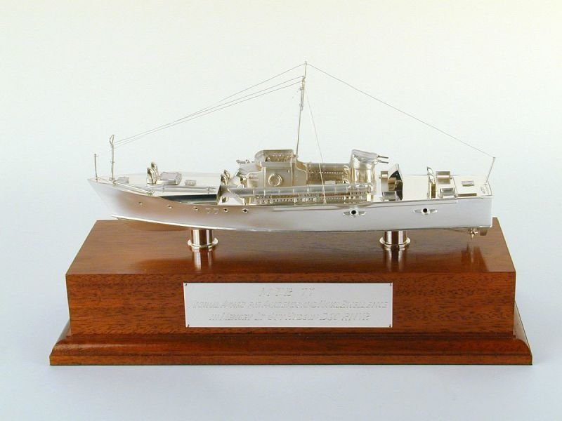 Royal Navy MTB77 model