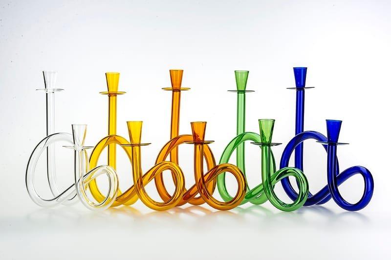 MulT8 Murano glass candelabra by De Vecchi
