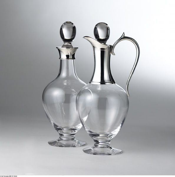 Complementary Dartington wine jug & decanter
