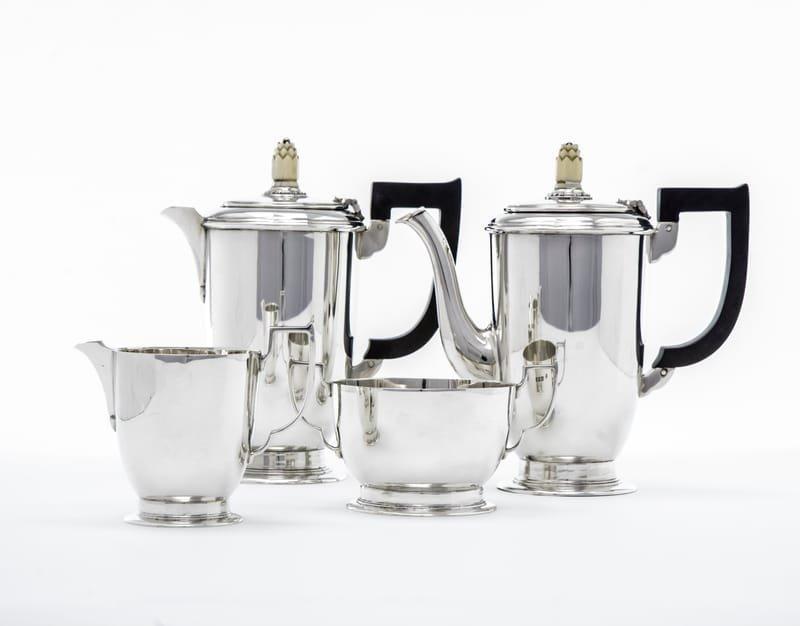 Art Deco silver tea & coffee set