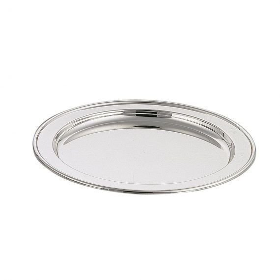 Silver-plated drinks tray