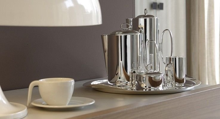 Silver plated tea & coffee