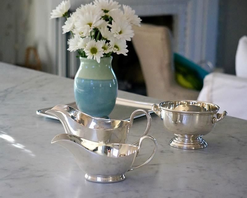 Silver plated tableware
