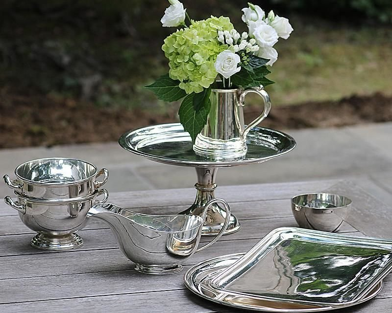 Silver-plated tableware