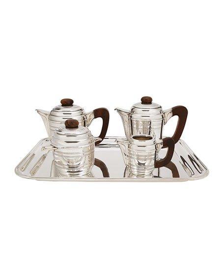 Art Deco style silver-plated tea & coffee service