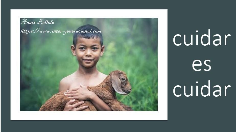 cuidar es cuidar 3 intergeneracional
