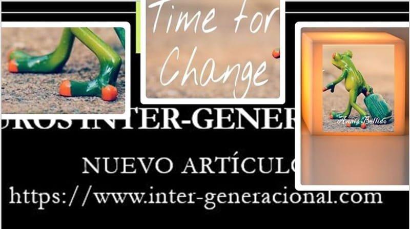 El momento del cambio es ahora
