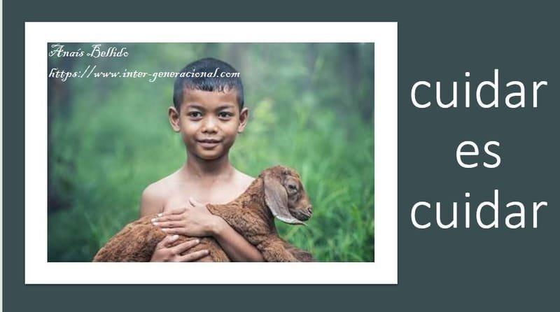 Cuidar es cuidar: animales
