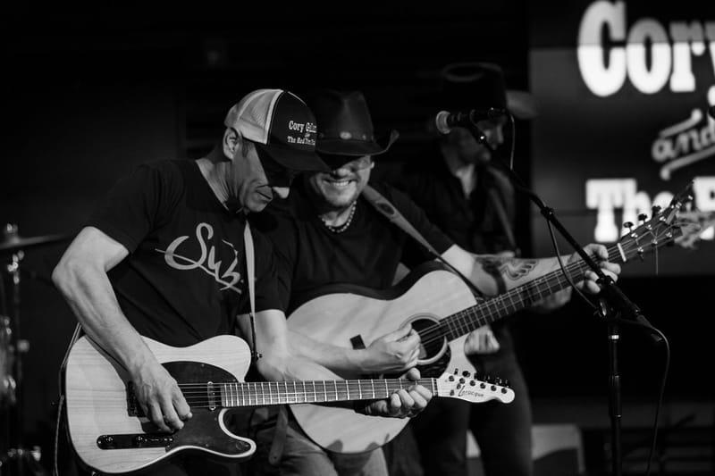 Cory and guitar player/bandleader Roland Beaulieu - 2 MB