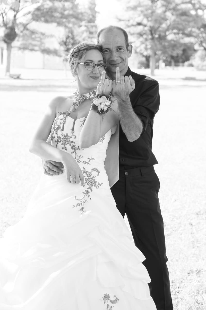 les mariés délirent