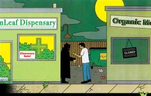 illustration - buying cannabis