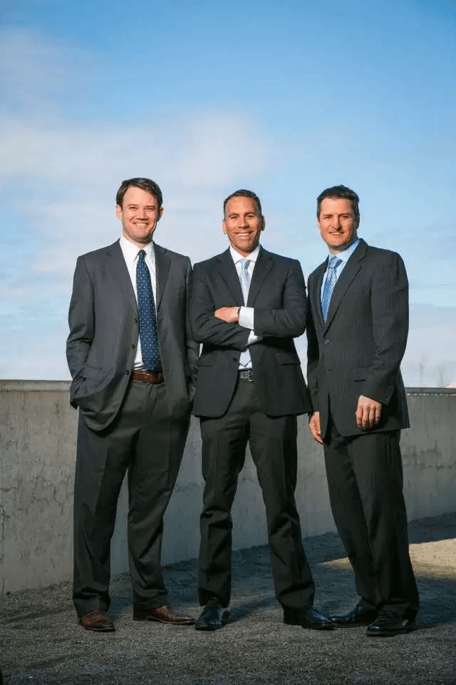 Michael Blue, Christian Groh and Brendan Kennedy