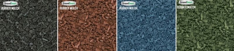 """GroundSmart"" Rubber Mulch/Choose Color"