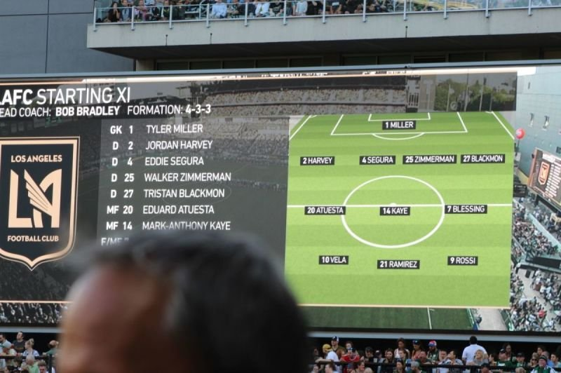 LAFC Lineup
