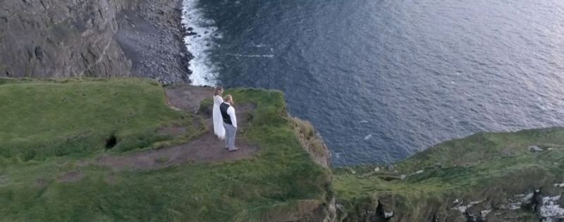 Emily + Rob            Cliffs of Moher