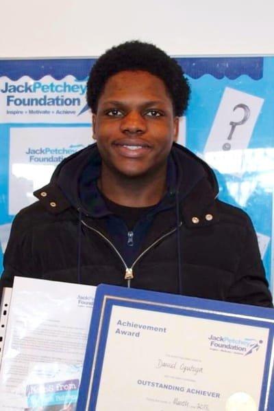 Daniel Ogutuga - Aged 15
