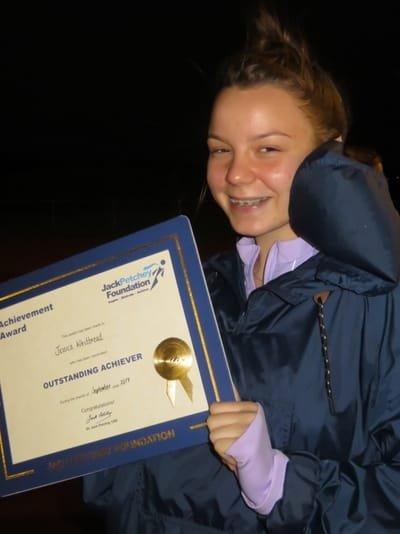 Jessica Whitbread - Aged 16