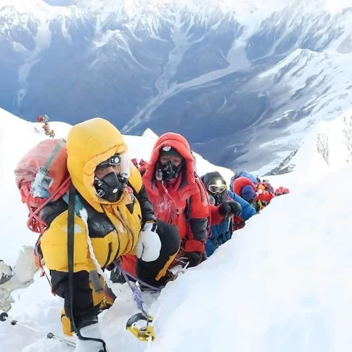 Great succes Makalu Extreme Treks Expedition team at Msnaslu 8163 international expedition  2017, 2018