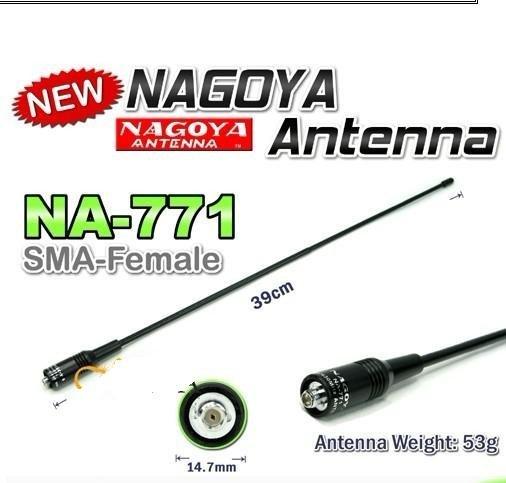Nagoya NA-771 15 6-Inch Whip VHF/UHF (144/430Mhz) Antenna