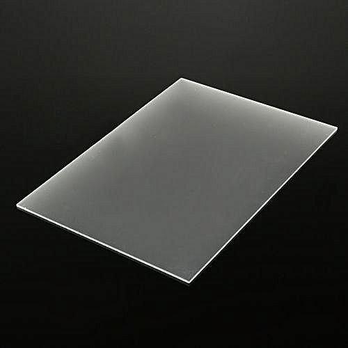 Frosted Plexiglass Acrylic (1 Sided) - 1/8