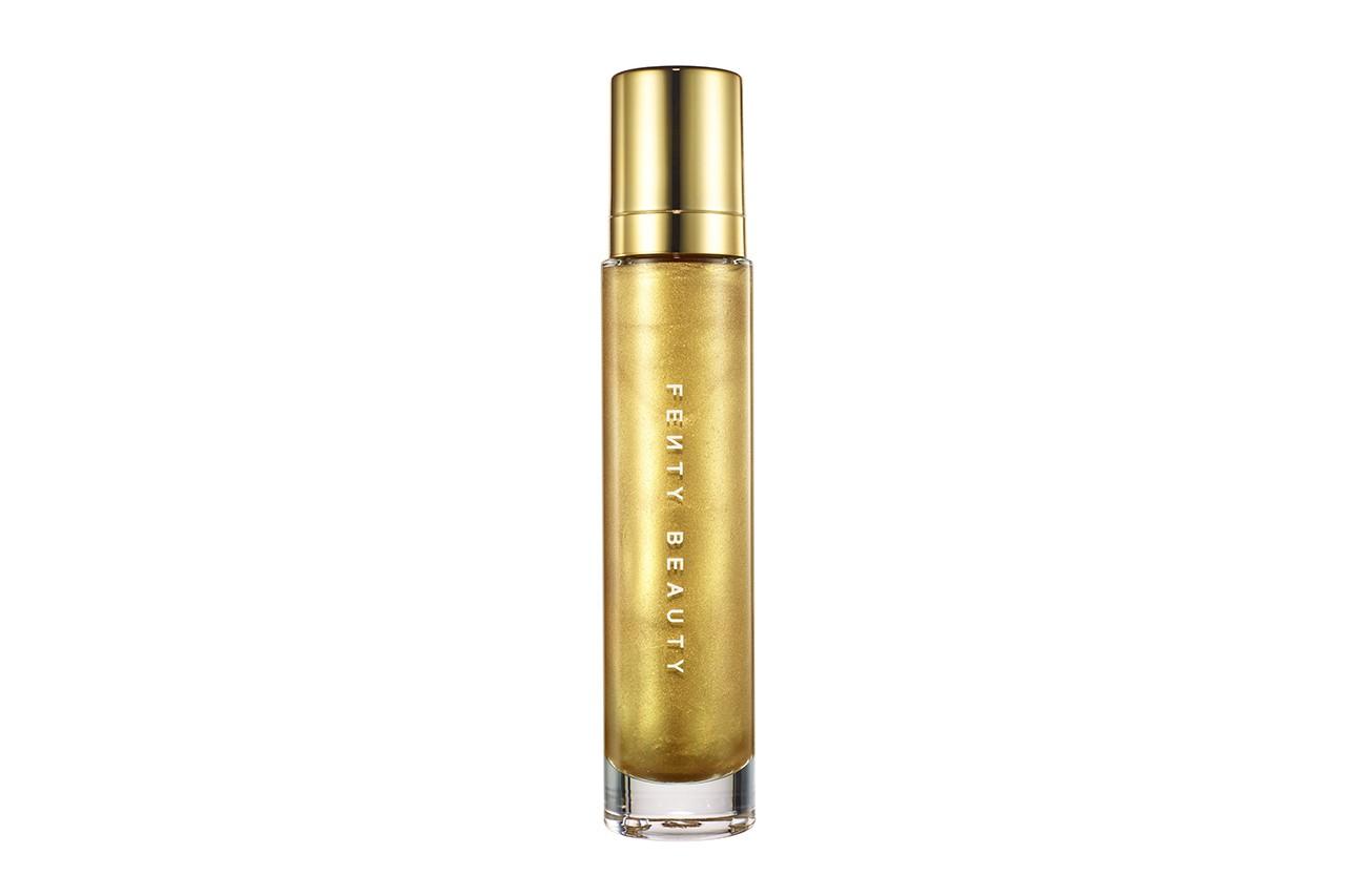 Fenty Beauty Rihanna Corps Lava Trophy Femme Surligneur Luminizer Maquillage Cosmétiques Campagne 2018