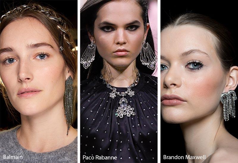 Tendances de bijoux automne / hiver 2019-2020: bijoux avec strass