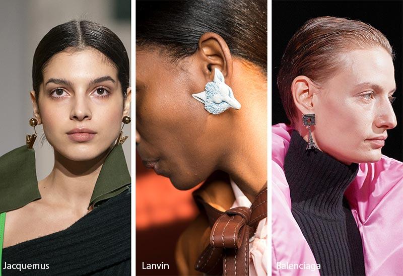 Tendances dans les bijoux automne / hiver 2019-2020: bijoux influencés par des objets