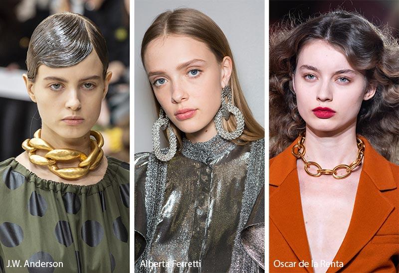 Tendances bijoux automne / hiver 2019-2020: gros maillons de chaîne