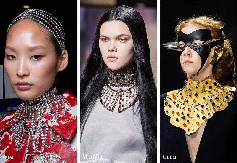 Tendances bijoux automne / hiver 2019-2020: Bavoir Bejeweled
