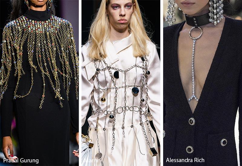 Tendances bijoux automne / hiver 2019-2020: Bijoux de corps