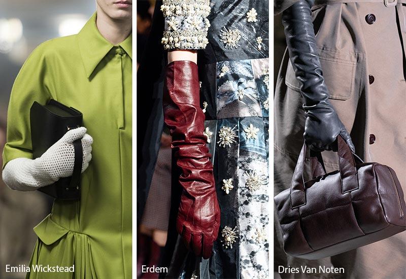Tendances des accessoires automne / hiver 2019-2020: Gants ajustés