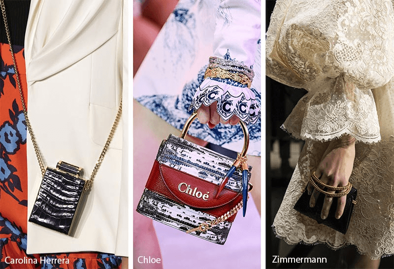 Tendances de sacs à main automne / hiver 2019-2020: Mini sacs / sacs à main