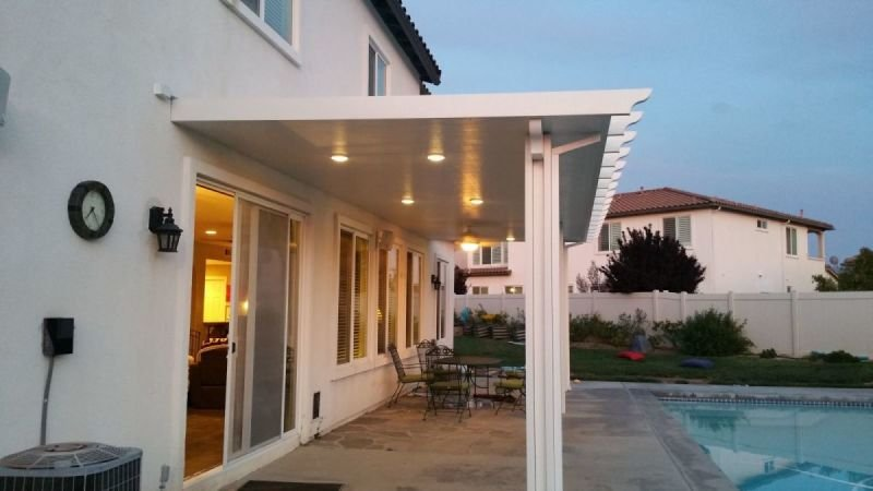 Patio Cover Lighting Js And Sons Construction