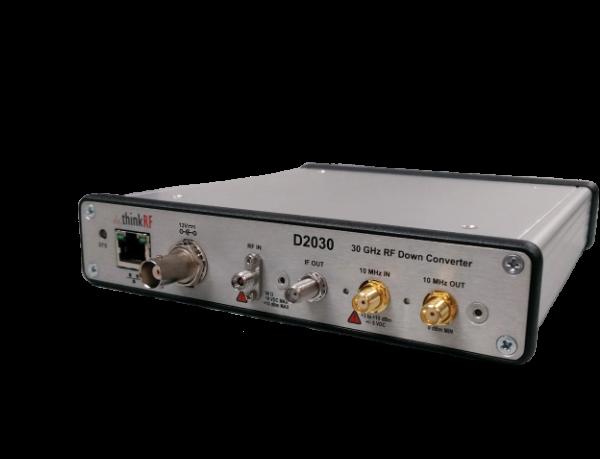 ThinkRF D2030 RF Downconverter for 5G analysis