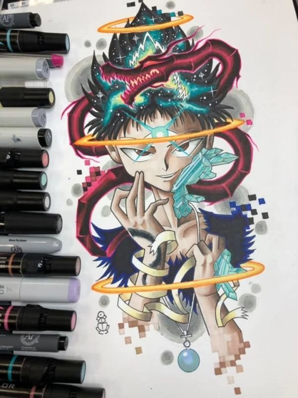 Hiei Tattoo design