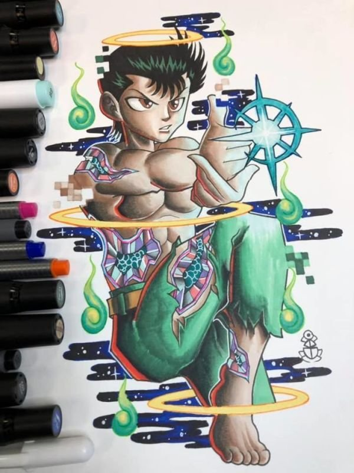 Yusuke tattoo design