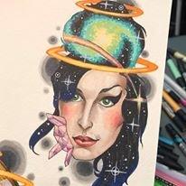 Amy Winehouse Tattoo design