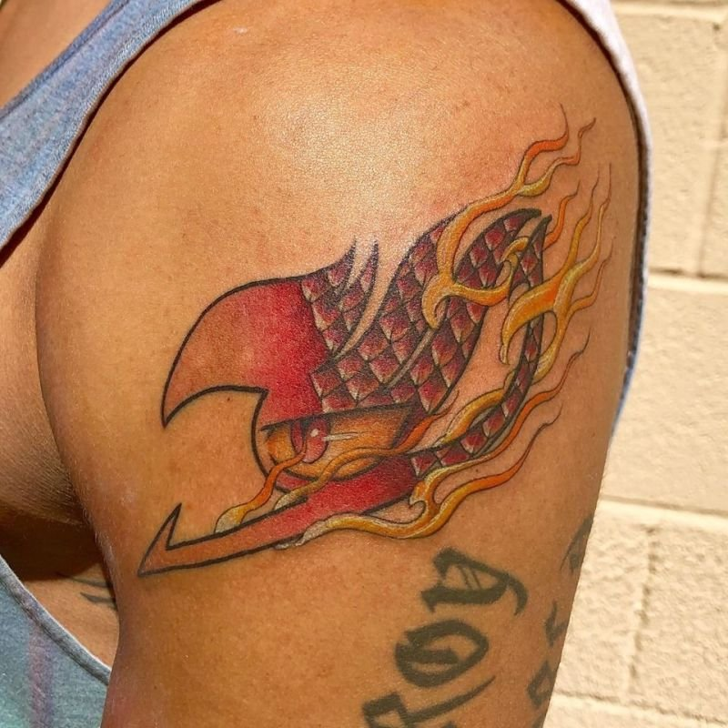Fairy Tail Brand Tattoo