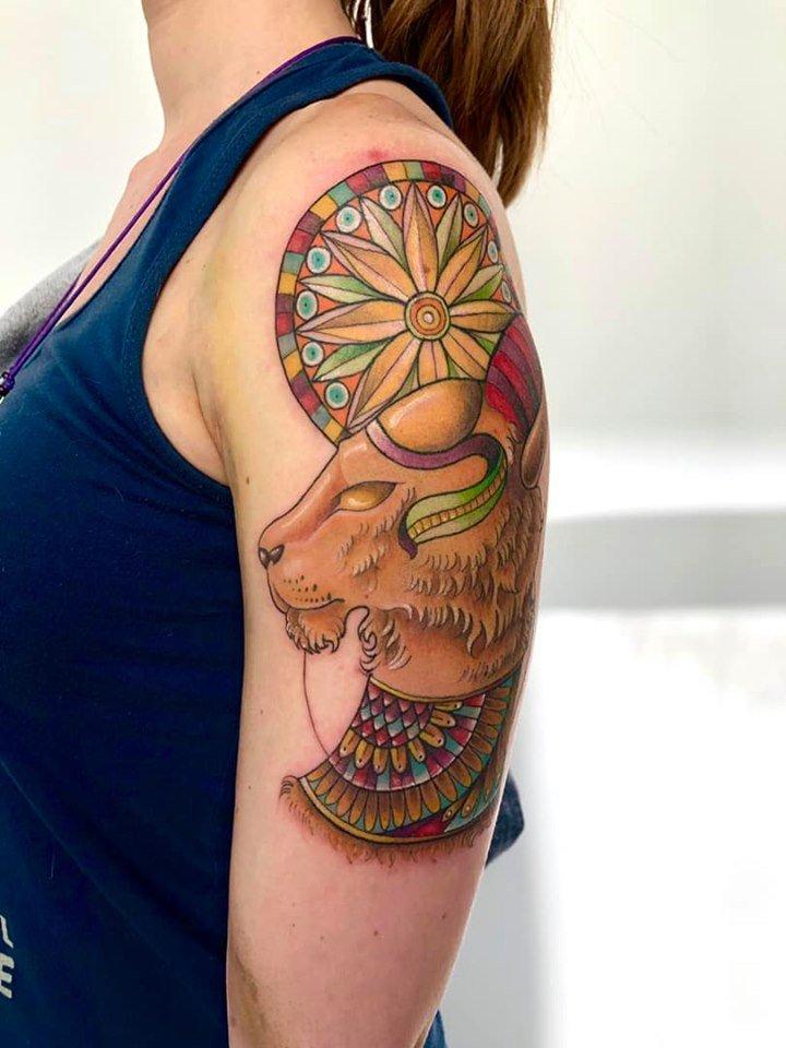Sekhmet Tattoo