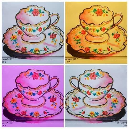 Four Tea Cups