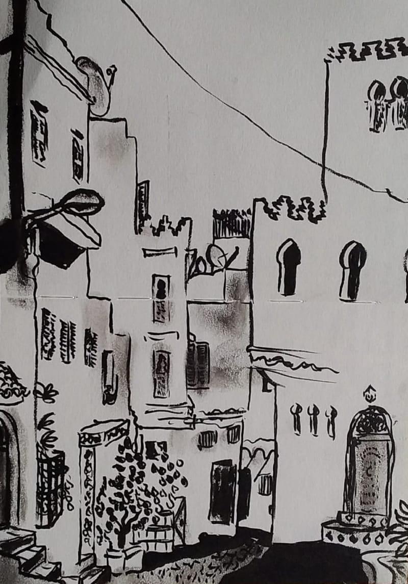 Street Scene, Tanger