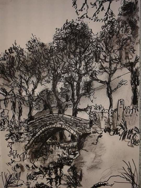 Pack Horse Bridge, Marsden