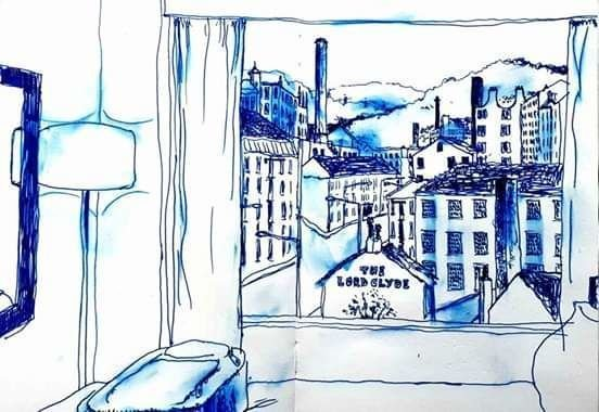 View from a Jury's Inn, Bradford