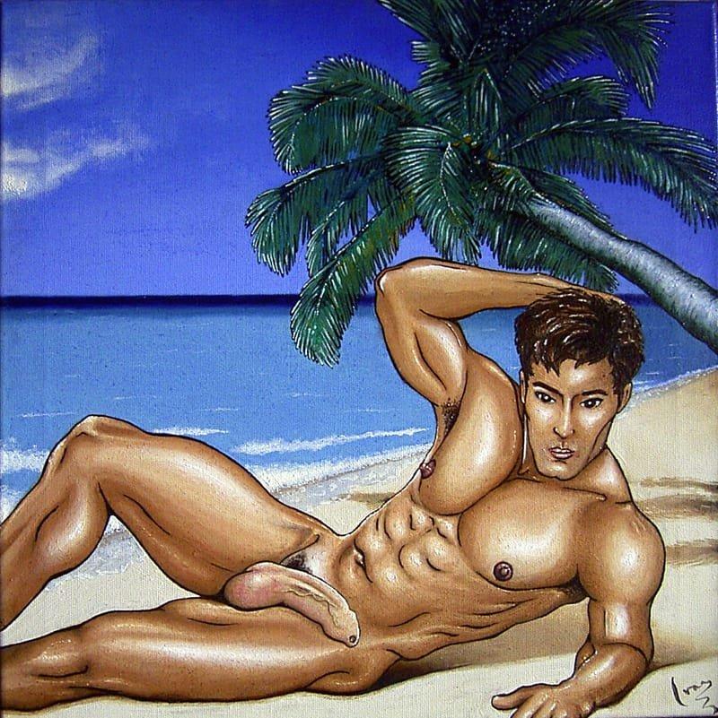 Manga Beach Boy