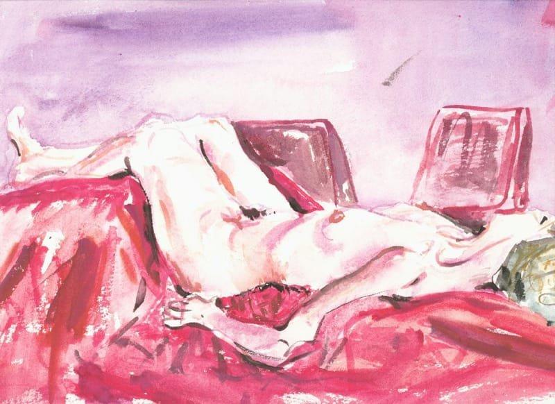 Reclining Nude Female