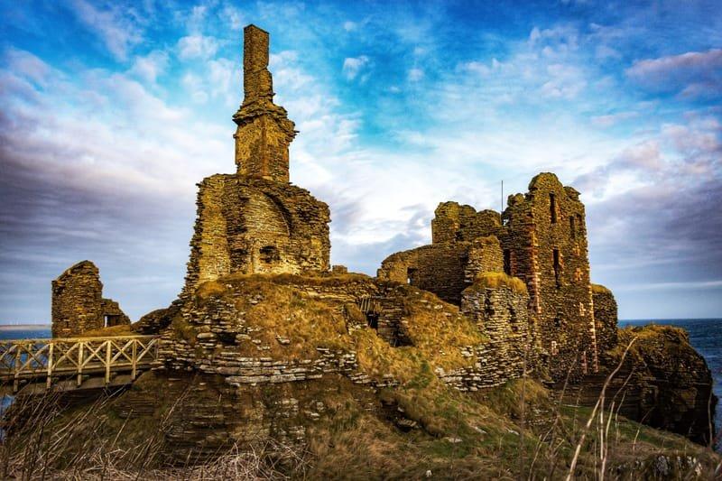 Girnigoe Castle Caithness