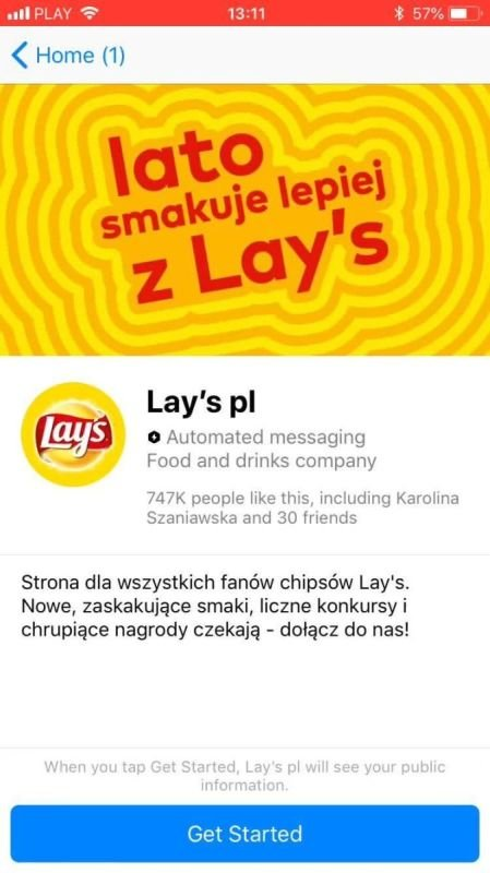 LAYS - Cheer your team